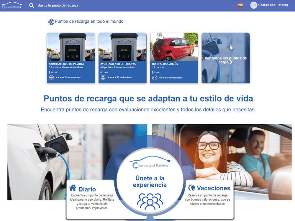 Recarga-App ChargeandParking_cargacoches